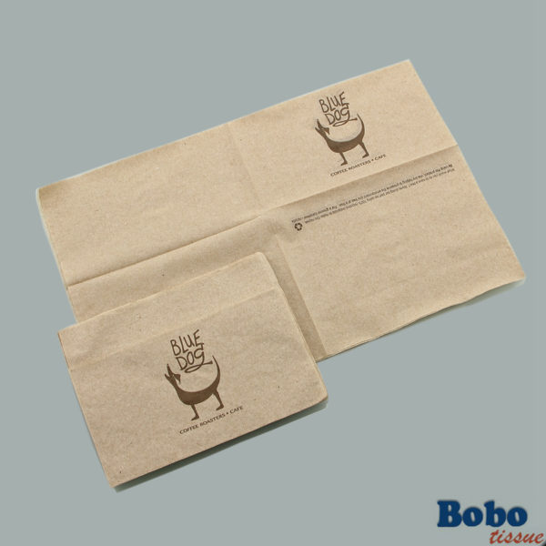Bobotissue unbleached post consumer recycled napkin unbleached post consumer recycled napkin reheart Choice Image